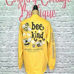 Bee Kind Save the Bees Simply Southern Shirt Top